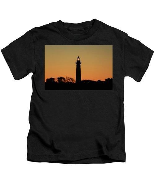 Bodie Light At Sunset Kids T-Shirt