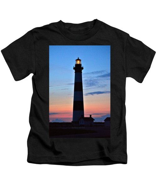 Bodie Lighthouse 7/18/16 Kids T-Shirt