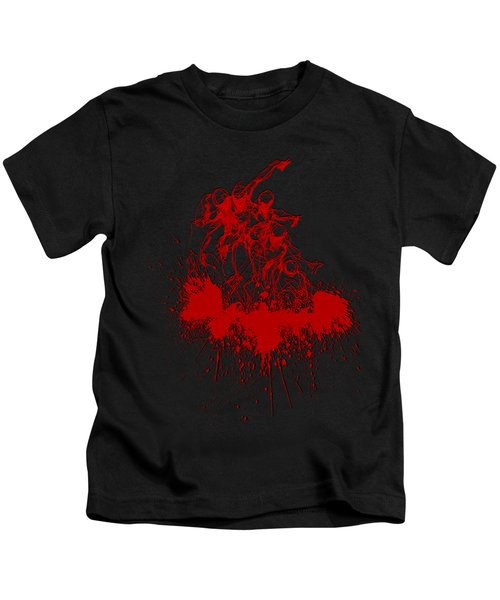 Body In Space Kids T-Shirt