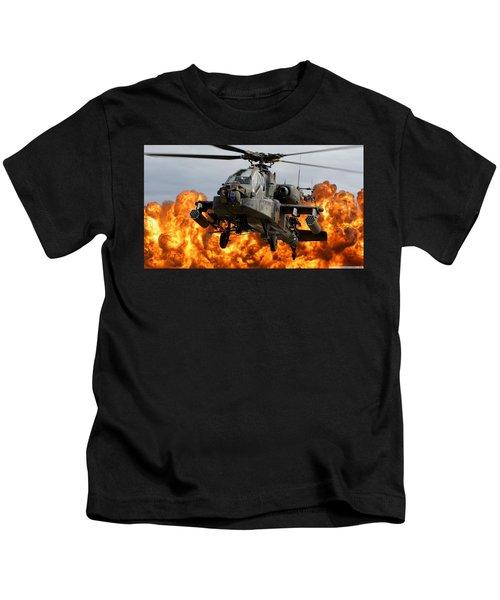 Boeing Ah-64 Apache Kids T-Shirt