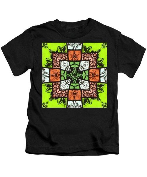 Boho Blocks Kids T-Shirt