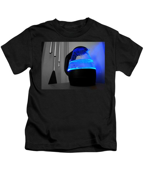 Boiling Blue Kids T-Shirt