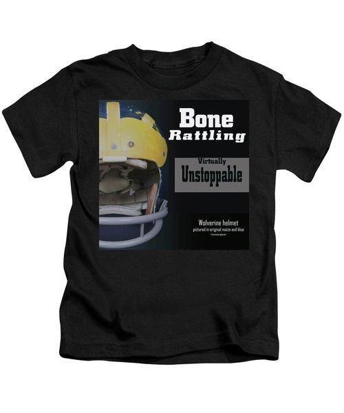Bone Rattling Virtually Unstoppable Kids T-Shirt