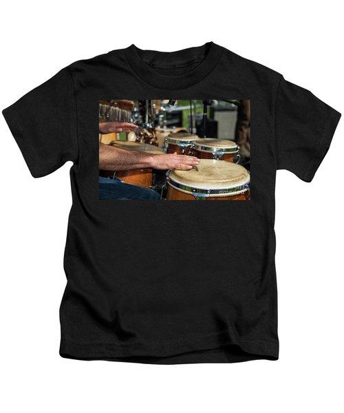 Bongo Hand Drums Kids T-Shirt
