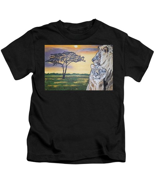 Bonnie And Clyde Kids T-Shirt