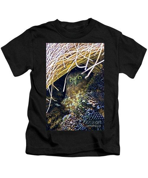 Boobook Owl Kids T-Shirt