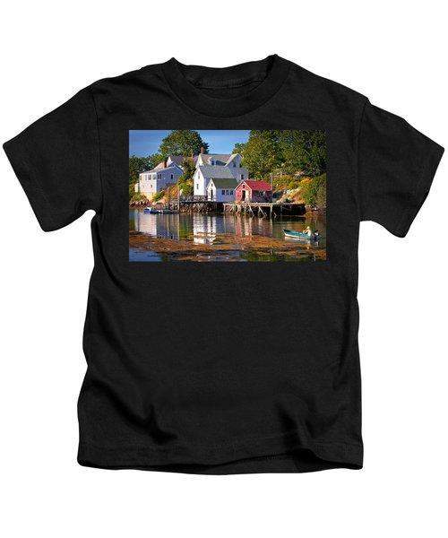 Boothbay  Maine Kids T-Shirt