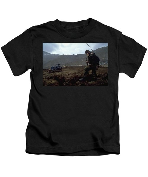 Boots On The Ground Kids T-Shirt