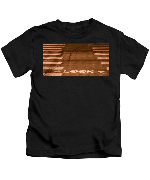 Both Ways - Urban Abstracts Kids T-Shirt