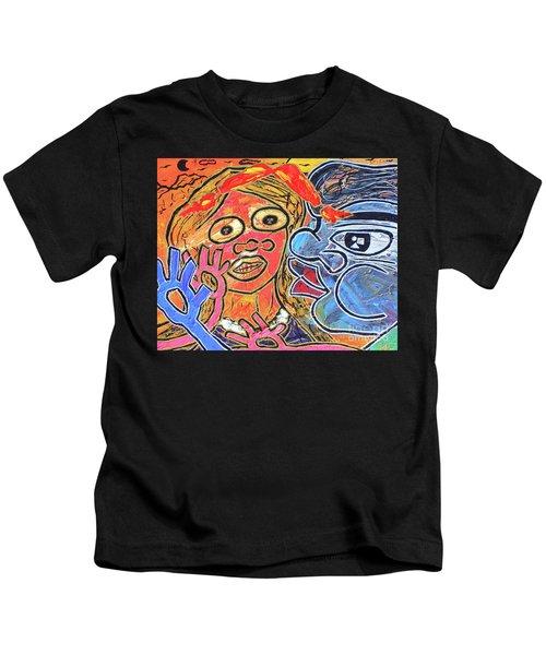 Boy Meets Girl Kids T-Shirt