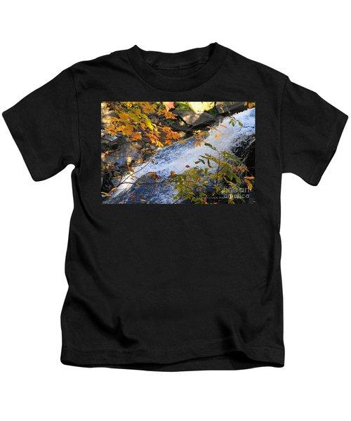 D30a-18 Brandywine Falls Photo Kids T-Shirt