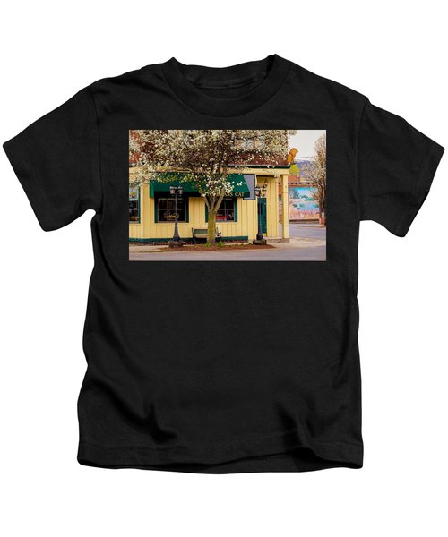 Brass Cat Pub Easthampton Kids T-Shirt