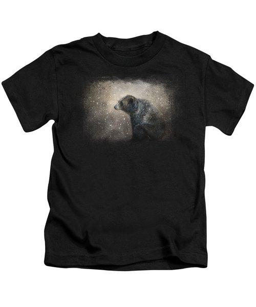 Braving The Storm Kids T-Shirt by Jai Johnson