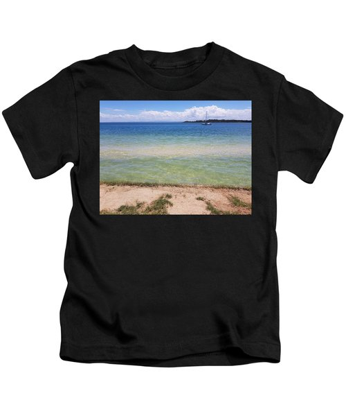 Bribie Ocean  Kids T-Shirt