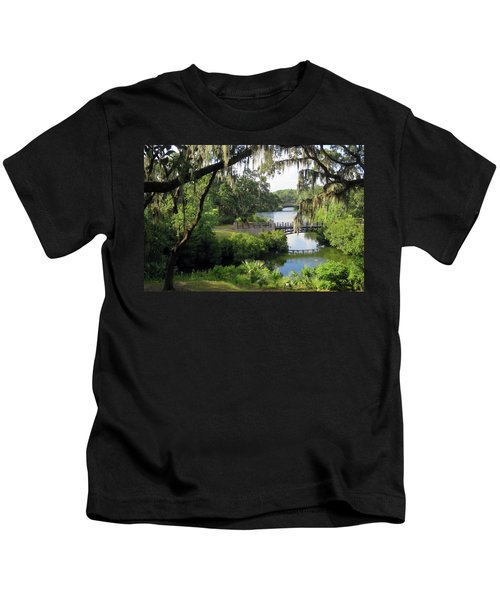 Bridges Over Tranquil Waters Kids T-Shirt