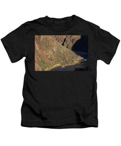 Bright Angel Trail Near The Colorado River Kids T-Shirt