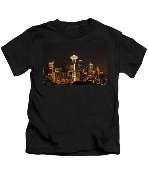 Bright At Night.1 Kids T-Shirt