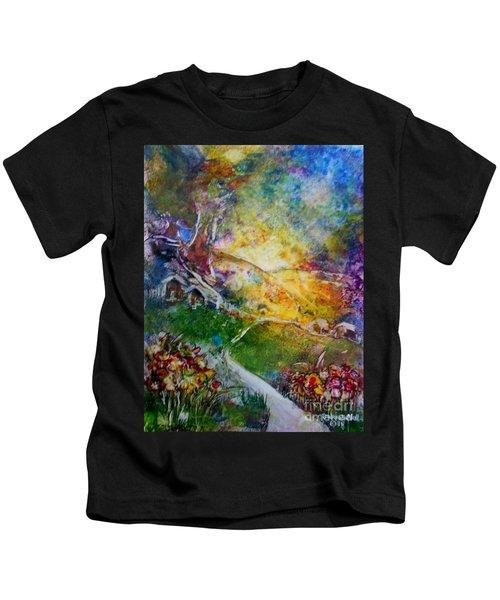 Bright Shiny Day Kids T-Shirt
