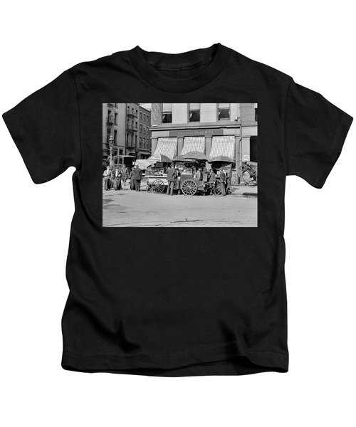 Broad St. Lunch Carts New York Kids T-Shirt