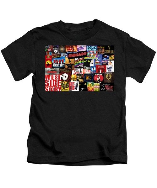 Broadway 3 Kids T-Shirt