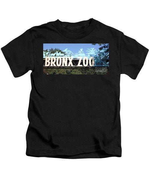 Bronx Zoo Entrance Kids T-Shirt