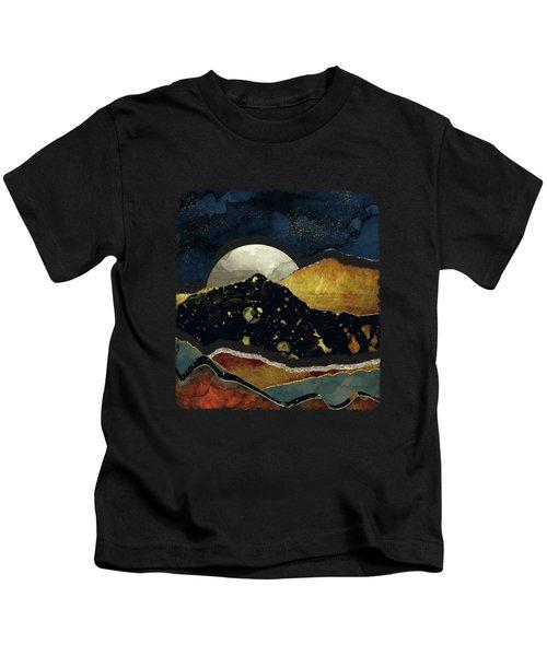 Bronze Night Kids T-Shirt