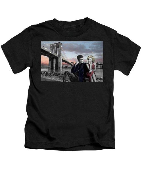 Brooklyn Bridge Kids T-Shirt by Chris Consani