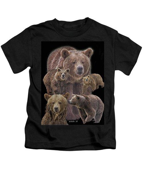 Brown Bears 8 Kids T-Shirt