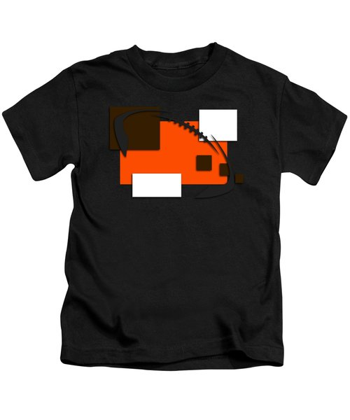 Browns Abstract Shirt Kids T-Shirt