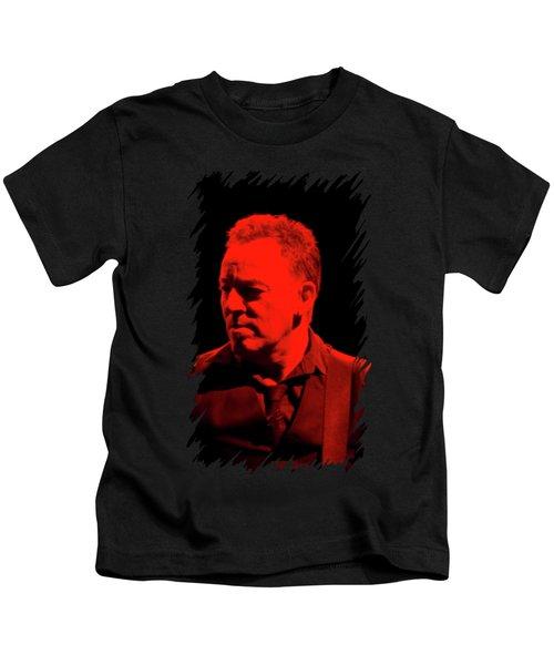 Bruce Springsteen Kids T-Shirt by Mona Jain