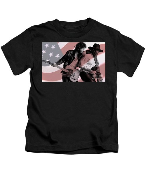 Bruce Springsteen Clarence Clemons Kids T-Shirt