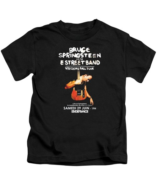 Bruce Springsteen Tour 2016 Kids T-Shirt
