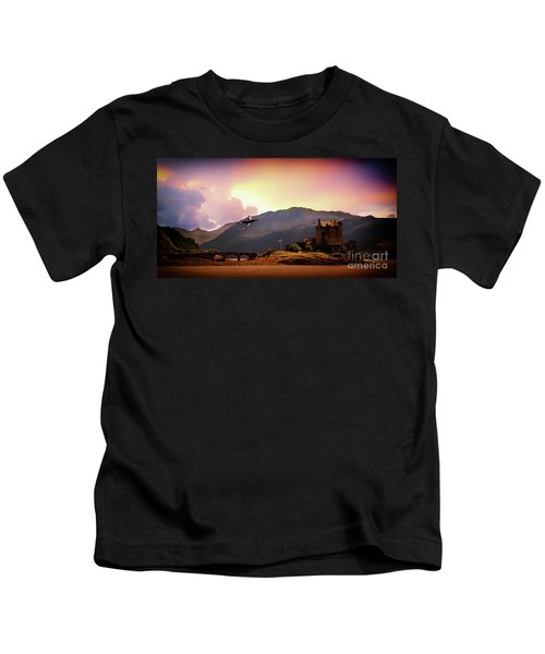 Bucc At The Castle Kids T-Shirt