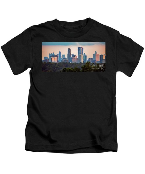 Buckhead Atlanta Skyline Kids T-Shirt