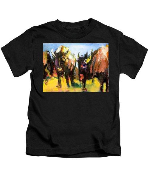 Buffalo Lips Kids T-Shirt