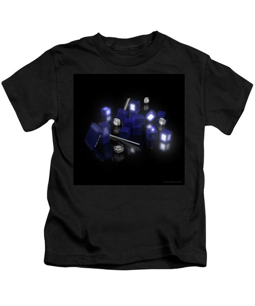 Building Blocks Of Space Time Travel Kids T-Shirt