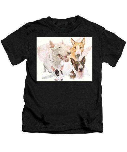 Bull Terrier Medley Kids T-Shirt