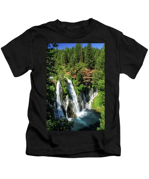 Burney Falls Kids T-Shirt