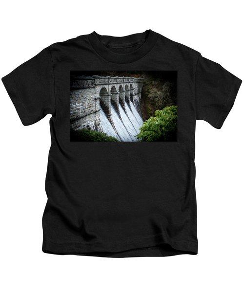 Burrator Reservoir Dam Kids T-Shirt