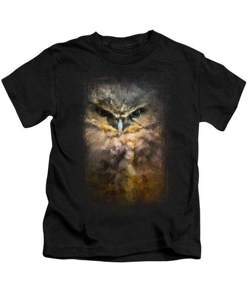 Burrowing Owl Kids T-Shirt