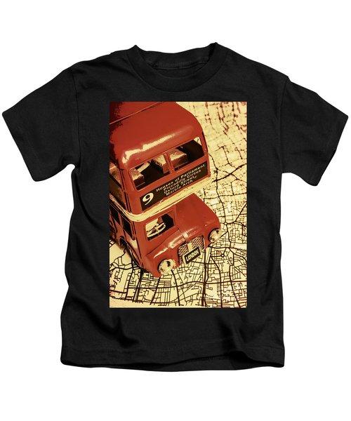 Bussing Britain Kids T-Shirt