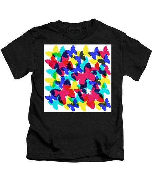 Butterflies Kids T-Shirt