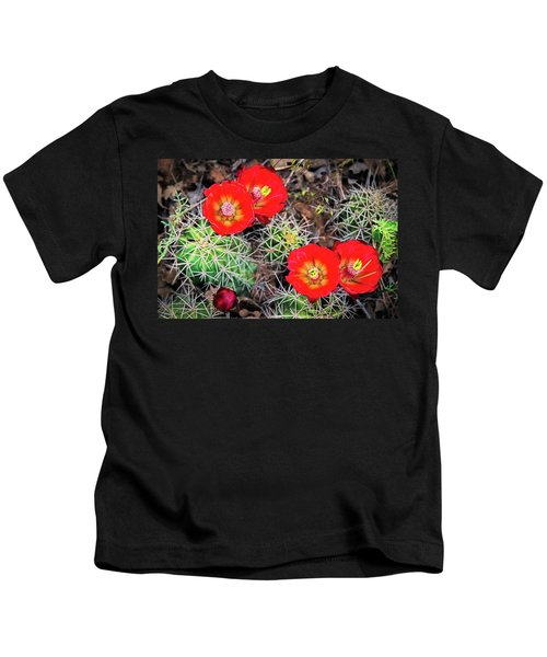 Cactus Bloom Kids T-Shirt
