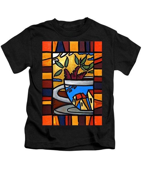 Cafe Caribe  Kids T-Shirt