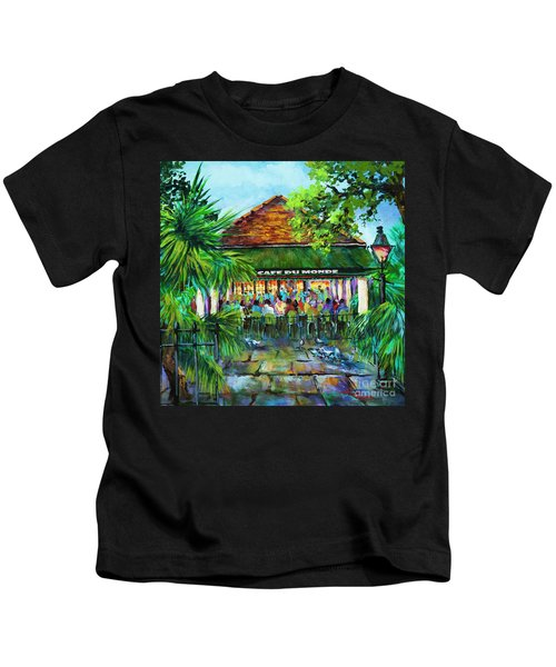 Cafe Du Monde Morning Kids T-Shirt