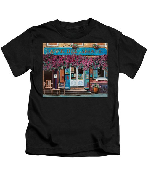 caffe del Aigare Kids T-Shirt