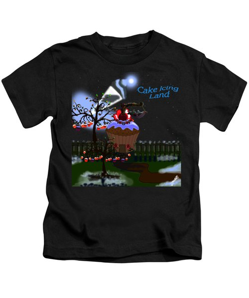 Cake Icing Land Kids T-Shirt