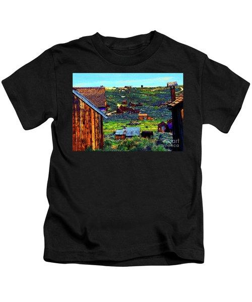 California Ghost Town Kids T-Shirt