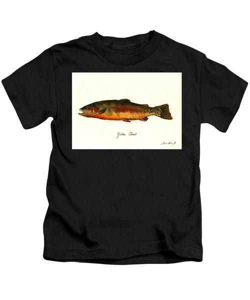 California Golden Trout Fish Kids T-Shirt