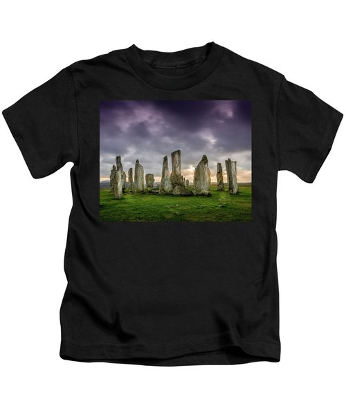 Callanish Stone Circle, Scotland Kids T-Shirt